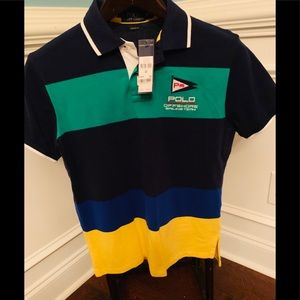 Polo offshore sailing team polo/size Med